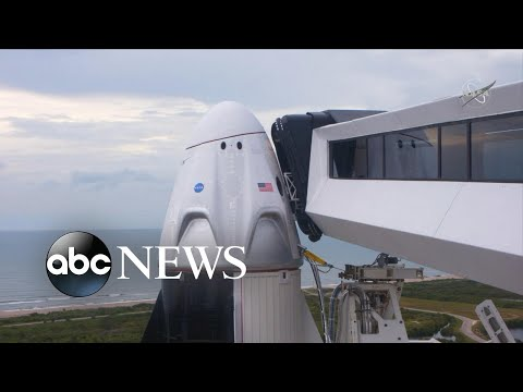 SpaceX Launch Aborted Due To Weather