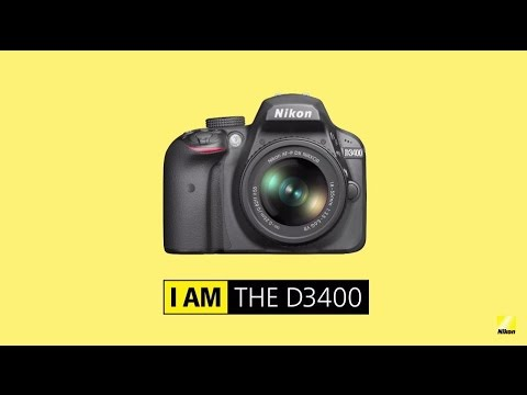 Nikon D3400: Product Tour