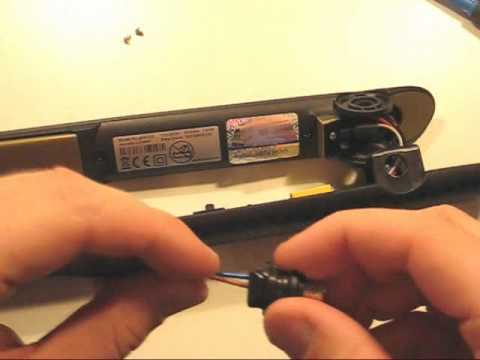 ghd-repair.co.uk: Replacing a cable on a pair of GHD 5.0 Gold Series Hair Straighteners