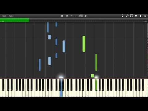Ennio Morricone: Chi Mai. Synthesia Tutorial + MIDI + PDF Sheet Music