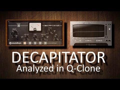 Soundtoys Decapitator analyzed in Q-Clone (no sound) - Andrei