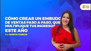 Cómo Crear Un Embudo De Venta Paso a Paso Que Multiplique Tus Ingresos Este Año   Marta García