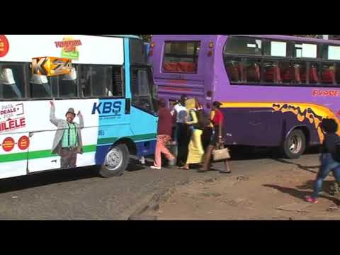 Drama as Kiambu county official block ferrying of garbage from Nairobi to Kiambu county from YouTube · Duration:  2 minutes 36 seconds