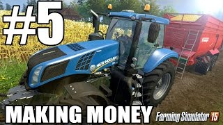 Lets Play Farming Simulator 2015 - Episode 5 - Making Money