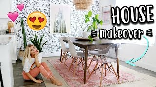 HOUSE MAKEOVER IS HAPPENING!!