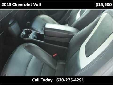 2013 Chevrolet Volt Used Cars Garden City KS