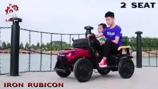 MOB2007 Iron Rubicon Mainan Anak Mobil Aki MVP Toys