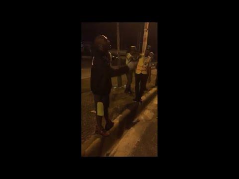 "Video: Dejan ir al mambero Sujeto Oro 24 tras ser interceptado mediante ""Toque de Queda""."
