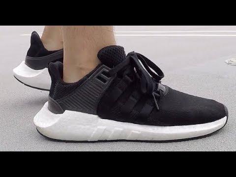 adidas eqt black leather