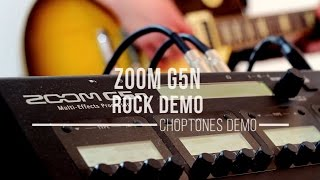 Zoom G5n - Rock Demo & Playthrough