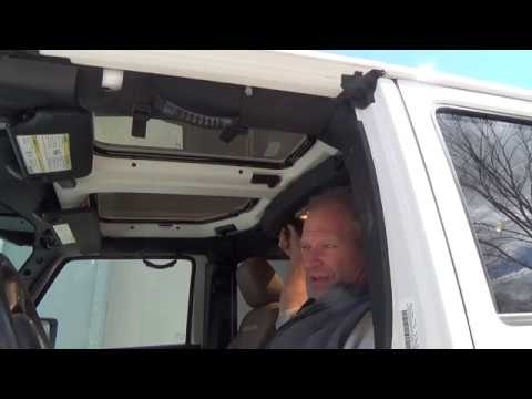 Installation Instructions for JeeTops™ Jeep Wrangler sunroofs