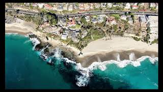 Drone video of Laguna Beach and Newport Beach, #DRONEPILOTMEDIA