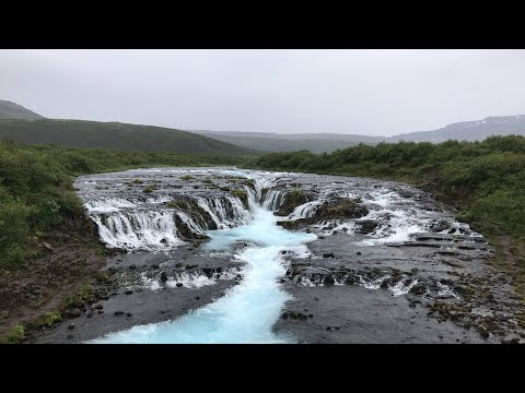 Bruarfoss waterfall , Iceland | guide to Iceland adventure!