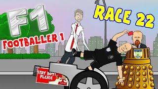 🚦Footballer 1:RACE 22🚦(Wenger push, Xhaka red, Rooney breaks Charlton's record!)