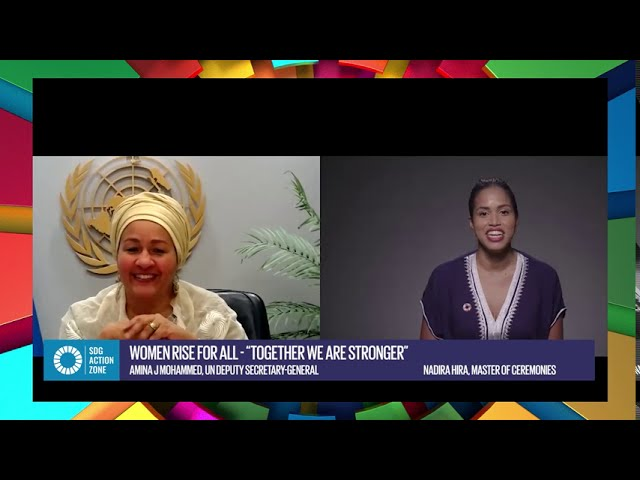 Women Rise for All – 'Together we are stronger' with Amina J. Mohammed, UN Deputy Secretary-General