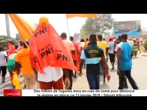 Des milliers de Togolais ont battu le pavé à Lomé et environs dénonçant le régime en place