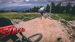 RAW | Trail Park Klinovec | Santa Cruz V10 am Limit? | Bikepark Bozi Dar