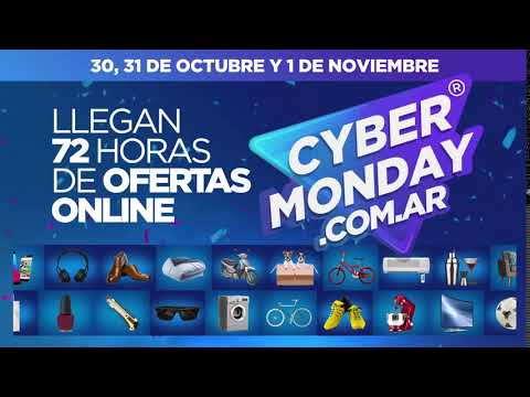 Llegaron 72hs de Ofertas Online - Cyber Monday 2017