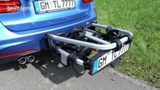 Übler Fahrradträger aus Aluminium, abklappbar