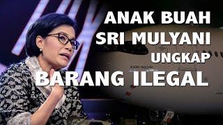 Anak Buah Sri Mulyani Ungkap Barang Ilegal di Pesawat Garuda