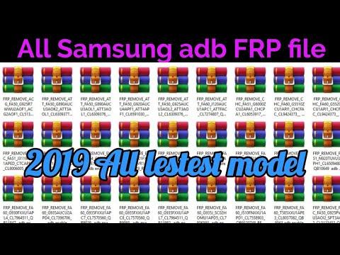 Samsung adb FRP File|Samsung FRP unlock|Samsung ADB File 2019|A6 FRP unlock|A7 FRP Unlock|Samsung