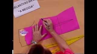 Repeat youtube video Hermenegildo Zampar - Bienvenidas TV - Explica el molde base del delantero.