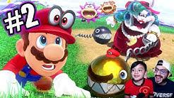 Abuela Malvada en Mario Odyssey | Super Mario Odyssey Capitulo 2 | Juegos Karim Juega