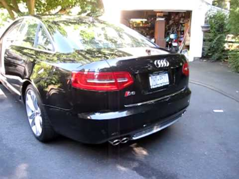 2010 audi s6 v10 youtube. Black Bedroom Furniture Sets. Home Design Ideas