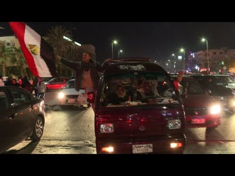 AFCON-2017: Fans celebrate Egypt's entry into Cup final