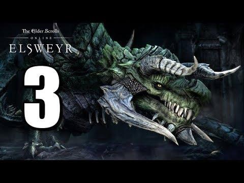 Let's Play Elder Scrolls Online: Elsweyr BLIND (Gameplay / Walkthrough) [Part 3]