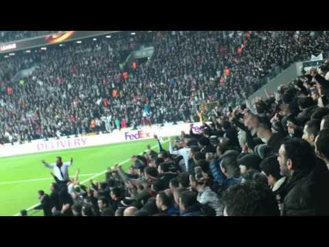 Besiktas - Olympiakos 1-0 Uefa League [Tribune]
