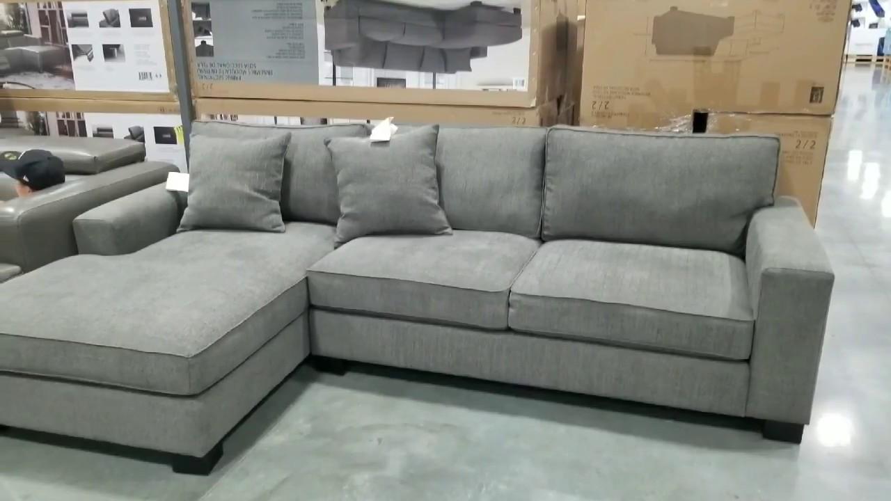 costco bainbridge fabric sectional 899