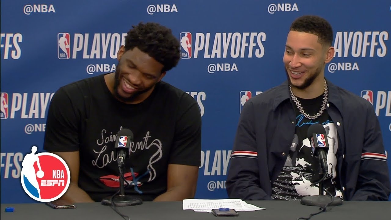 Joel Embiid apologizes for elbowing Jarrett Allen in 76ers' Game 2 win | NBA Sound
