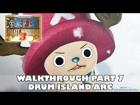 [PS4] Drum Island Arc - One Piece Pirate Warriors 3 Walkthrough Part 7 |  ワンピース 海賊無双3