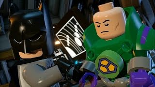 LEGO Batman 3: Beyond Gotham (Vita / 3DS) - 100% Guide Chapter 5 - Brainiac Attack