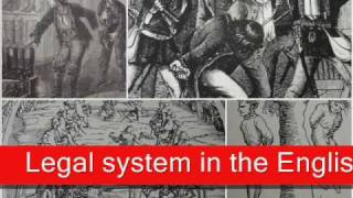 Legal System in the English Renaissance - Part 2