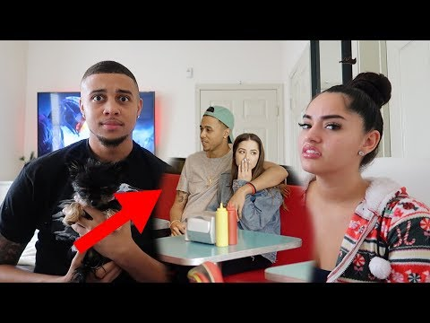 REACTING TO MY BOYFRIENDS OLD MUSIC VIDEO...