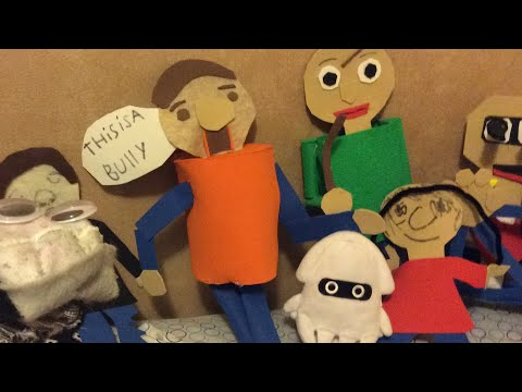 My Baldis Basics Plush Collection Road To 400 Subscribers