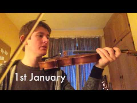 Beginner Fiddle - 1 Year Progress