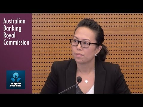 ANZ's Pricing Operations Manager testifies at the Banking Royal Commission