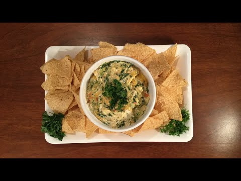 Spinach Crab and Artichoke Dip