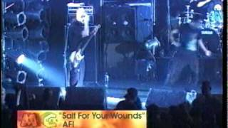 AFI - Salt For Your Wounds (Live)