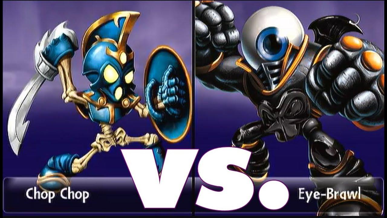 Skylanders giants duellmodus chop chop 15 vs eye brawl - Coloriage skylanders giants eye brawl ...