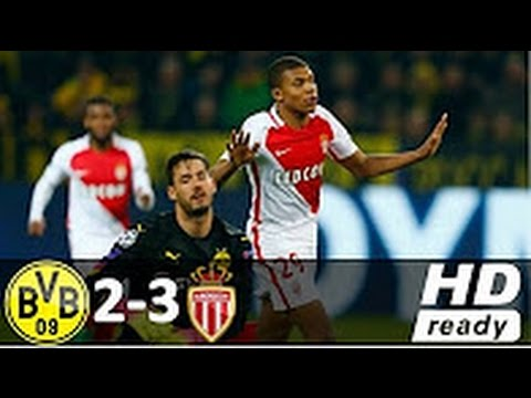 Borussia Dortmund 2 x 3 Monaco Highlights Champions League 12 04 2017