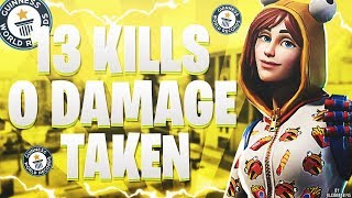 WORLD RECORD PS4 - 0 DAMAGE TAKEN 13 KILLS