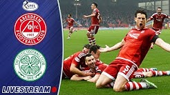 Aberdeen v Celtic | #StayHome LIVESTREAM (12/09/15) | 10-Men Dons Top the Table in 2015!