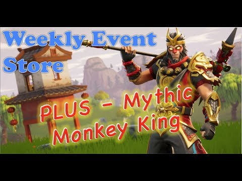 Fortnite Mythic Monkey King And Weekly Store Update