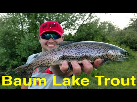 Trout Fishing Northern California's Baum Lake