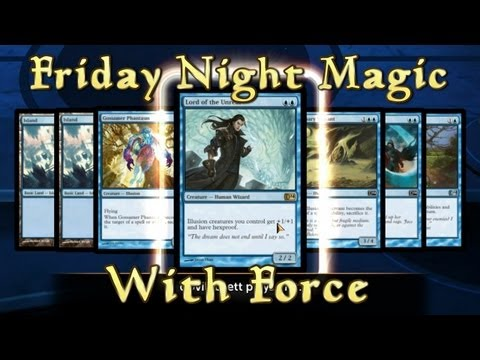 FNM with Force - It's An Illusion (MTG Duels 2014 Multiplayer)