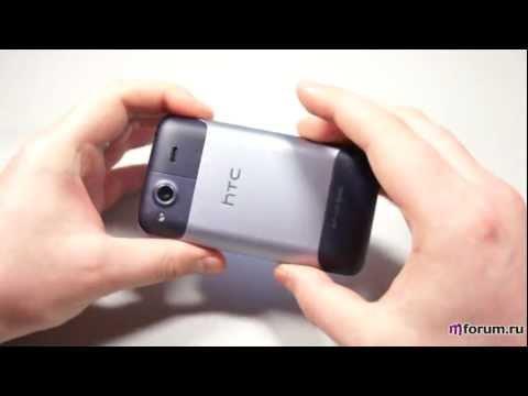 Обзор HTC Salsa - распаковка, внешний вид